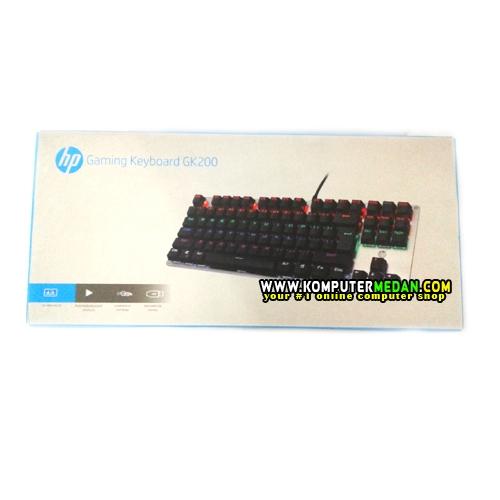 Hp Mechanical Gaming Keyboard Tkl Gk200 Metal Silver Body Blue Switch Komputer Medan Toko Komputer Gaming Terlengkap